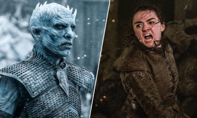 Game of Thrones đã quyết định cắt bỏ cảnh Arya tiến vào Rừng thiêng để giết Night King vì cho rằng nó *éo quan trọng