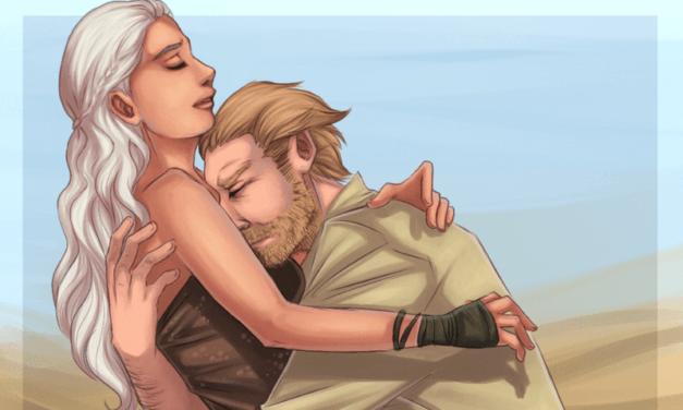 [21+] Chính nụ hôn của Ser Jorah đã đánh thức điều này trong Dany