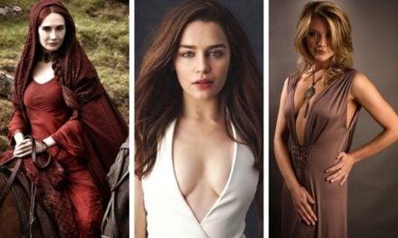 Top 10 người đẹp có số đo vòng một nóng bỏng nhất Game of Thrones